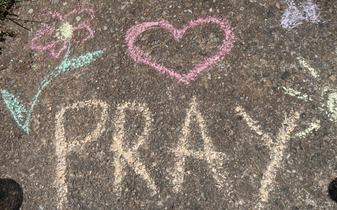 Make Space | Chalk Prayers